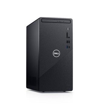 Настолен компютър Dell Inspiron 3881 MT (5397184444610), четириядрен Comet Lake Intel Core i3-10100 3.6/4.3 GHz, 8GB DDR4, 1TB HDD, 1x USB 3.2 Gen 2 Type-C, клавиатура и мишка, Windows 10 Home image