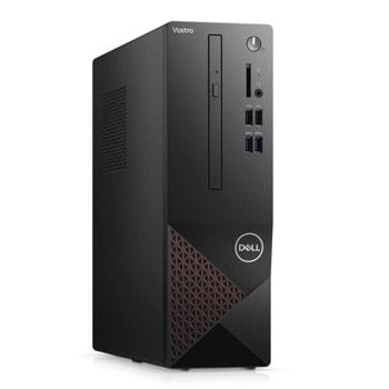 Настолен компютър Dell Vostro 3681 SFF (N207VD3681EMEA01_2101_UBU), шестядрен Comet Lake Intel Core i5-10400 2.9/4.3 GHz, 8GB DDR4, 256GB SSD, 4x USB 3.2 Gen 1, Linux image