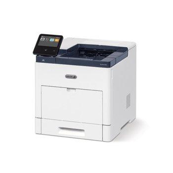 Лазерен принтер Xerox VersaLink B610DN, монохромен, 1200 x 1200 dpi, 63 стр./мин., LAN 1000, NFC, USB 3.0, A4 image