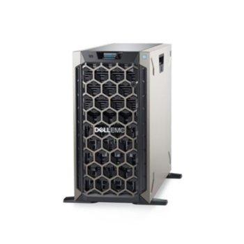 Сървър Dell PowerEdge T340 (PET340CEEM01), четириядрен Intel Xeon E-2224 3.4 GHz, 16GB DDR4 ECC UDIMM, 1x 1TB HDD, 2x 1GbE, 3x USB 3.0, без OS, 1x 495W image