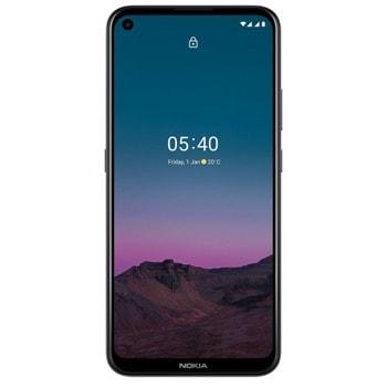 "Смартфон Nokia 5.4 (Dusk), поддържа 2 sim карти, 6.39"" (16.23 cm) HD+ IPS, осемядрен Snapdragon 662 (4x 2GHz & 4x 1.8GHz), 4GB RAM, 64GB Flash памет, 48.0 + 2.0 + 5.0 + 2.0 & 16.0 Mpix камера, Android, 181g image"
