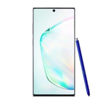 """Смартфон Samsung SM-N970F Galaxy Note10 (Aura Glow), поддържа 2 sim карти, 6.3"""" (16.00 cm) Full HD+ Dynamic AMOLED дисплей, осемядрен Exynos 9825 2.73 GHz, 8GB RAM, 256GB ROM, 12.0 + 12.0 + 16.0 MPix & 10 MPix камера, Android 9.0, 168g image"""