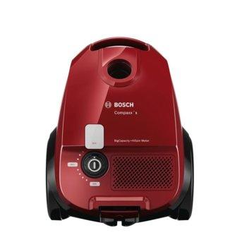 Прахосмукачка Bosch Compaxx Red (BZGL2A310), с торба, 600 W, 3.5 л. капацитет на торбата, червена image