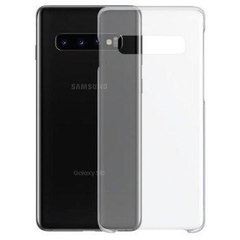 Калъф за Samsung Galaxy S10, силиконов гръб, силикон, тъник, прозрачен image
