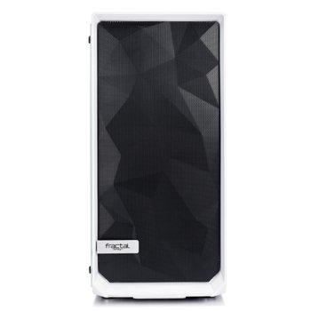 Кутия Fractal Design Meshify C White-TG, ATX/mATX/ITX, прозорец със закалено стъкло, бяла, без захранване image