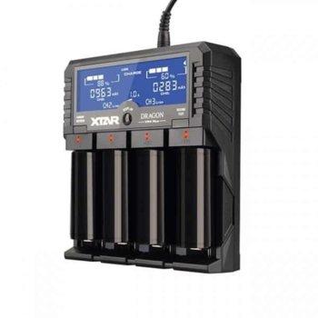 Зарядно устройствo Xtar Dragon VP4 Plus, 4x слота, за Li-Ion/NiMH/NiCd image