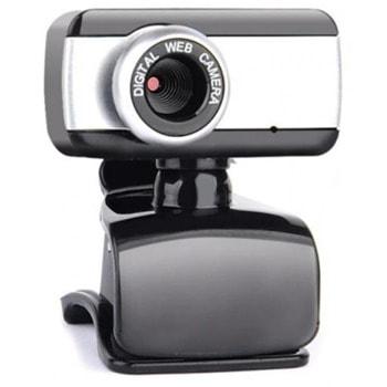 Уеб камера, BC2019, с вграден микрофон, 640 x 480 / 30FPS, 3.0 мегапиксела, USB 2.0, черен image