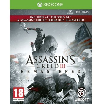 Игра за конзола Assassin's Creed III Remastered + All Solo DLC & Assassin's Creed Liberation, за Xbox One image
