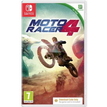 Moto Racer 4 - Code in a Box Nintendo Switch product