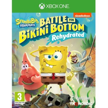 Игра за конзола Spongebob SquarePants: Battle for Bikini Bottom - Rehydrated, за Xbox One image