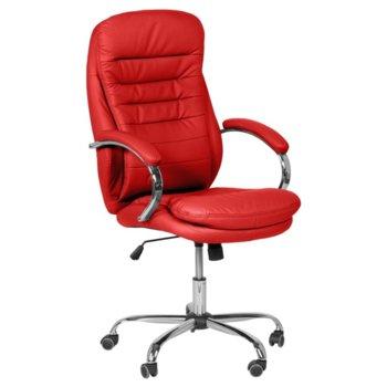 Директорски стол Carmen 6113, червен image