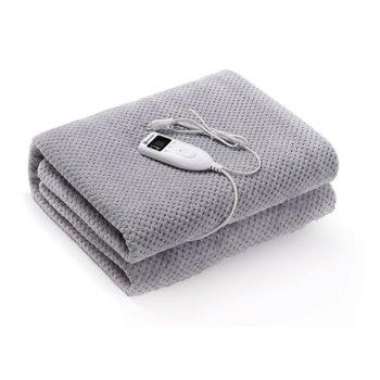 Електрическo одеяло Rohnson R 032, 60 W, за 1 човек, полиестер, 5 температурни настройки, сива image