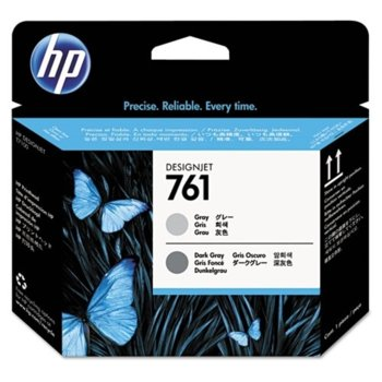 Мастило за HP DesignJet T7100 - Gray - 761 - P№ CH647A image