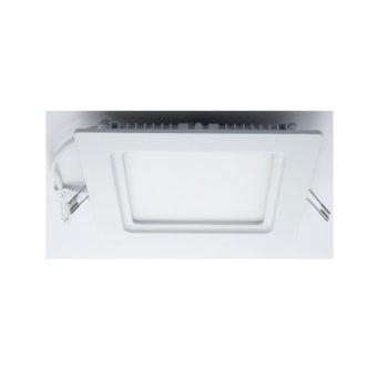 LED панел, ORAX O-P1717-NW-IP44, квадратен, 16W, AC 220V, неутрално бяла image
