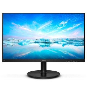 """Монитор Philips 220V8, 21.5"""" (54.61 cm), VA панел, Full HD, 4ms, 4000:1, 200cd/m2, DVI-D, VGA image"""