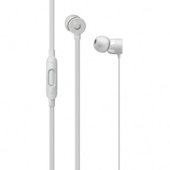 Слушалки Beats urBeats3, Lightning Connector, микрофон, сребристи image