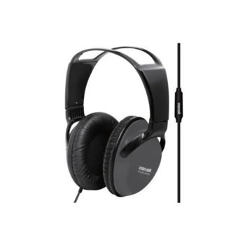 Слушалки Maxell Studio Series ST2000, микрофон, 1.8m кабел, сиви image