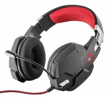 Слушалки Trust GXT 322, микрофон, съвместими с PS4/Xbox One/Nintendo Switch, черни image