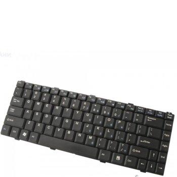 Клавиатура за лаптоп Asus съвместима със серия Z96, Z96J, Z96JS, Z96F, S96J, US / UK с кирилица image