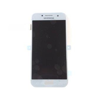Дисплей за Samsung Galaxy A3 2017 SM-A320F, LCD Full Original, с тъч, син  image