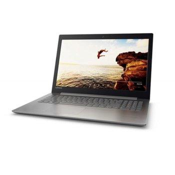 "Лаптоп Lenovo IdeaPad 320-15IAP(80XR01BJBM), двуядрен Apollo Lake Intel Celeron N3350 1.10/2.4GHz, 15.6""(39.62 cm) HD anti-glare TN display, 4GB DDR3L, 1TB HDD, 1x USB 3.0, Free DOS, 2.2kg image"