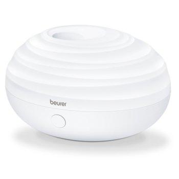 Ароматизатор Beurer LA20, ултразвуково овлажняване, за помещения до 10 m2, сменящата се LED светлина, капацитет на резервоара 80мл, бял image