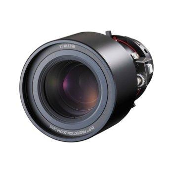 Обектив за проектор Panasonic ET-DLE350, за проектори Panasonic PT-DZ870E, PT-DW830E, PT-DX100E, PT-DZ770E, PT-DX800EL, PT-DX810EL, PT-DW730EL, PT-DW740EL, PT-DZ680, PT-DW640, PT-DX610, PT-D6710E, PT-6700E, PT-DW6300E, PT-D6000E, PT-D5000E, PT-RZ670, image