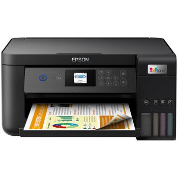 Мастиленоструен принтер Epson L4260, цветен, 5760 x 1440 dpi, 33 стр/мин, USB, Wi-Fi, A4 image
