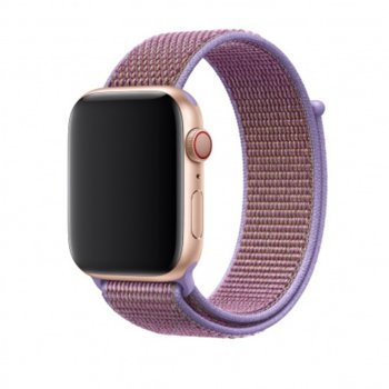 Каишка за смарт часовник Apple Watch (44mm) Lilac Sport Loop (Seasonal Spring2019), лилава image