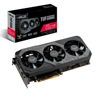 Видео карта AMD Radeon RX 5700 XT, 8GB, Asus TUF Gaming X3 OC edition, GDDR6, 256bit, Display Port, HDMI image