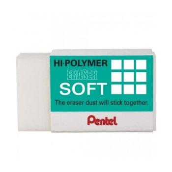 Гума Pentel Zes08 Hi-Polymer Soft, цена за 1бр. image
