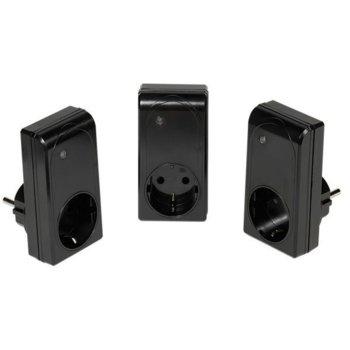 Управляем контакт Vivanco 3 x3600, дистанционно управление, до 25 м обхват image