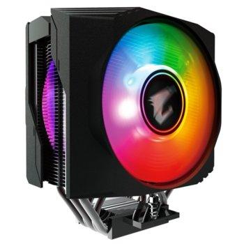 Охлаждане за процесор Gigabyte AORUS ATC800 RGB, съвместимост със Intel Socket 2066/2011/1366/1156/1155/1151/1150 & AMD AM4/FM2+/FM2/FM1/AM3+/AM3/AM2+/AM2 image