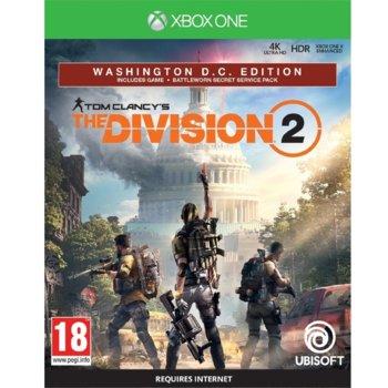 Игра за конзола Tom Clancy's The Division 2 - Washington, D.C. Deluxe Edition, за Xbox One image