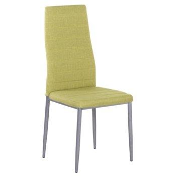Трапезен стол Carmen 515, дамаска, зелен image