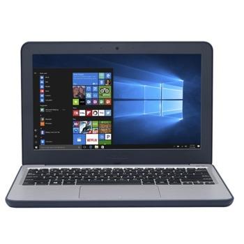 "Лаптоп Asus W202NA-GJ0083R (син), двуядрен Apollo Lake Intel Celeron N3350 1.1/2.4 GHz, 11.6"" (29.46 cm) HD Anti-Glare Display, (HDMI), 4GB LPDDR3, 128GB eMMC, 2x USB 3.0, Windows 10 Pro image"