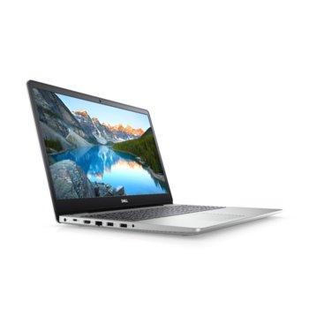 "Лаптоп Dell Inspiron 5593 (5397184312650)(сребрист), четириядрен Ice Lake Intel Core i5-1035G1 1.0/3.6 GHz, 15.6"" (39.62 cm) Full HD Anti-Glare Display, (HDMI), 8GB DDR4, 512GB SSD, 2x USB 3.1, Linux image"