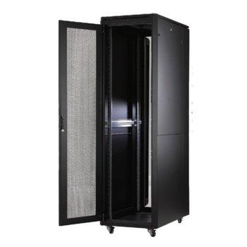 Комуникационен шкаф MIRSAN MR.GTAPS32U61.11 ALTER Plus Server/Storage, 600 x 1000 x 1608 мм / 32U, D=1000 мм, 600 кг товар, черен, свободно стоящ image