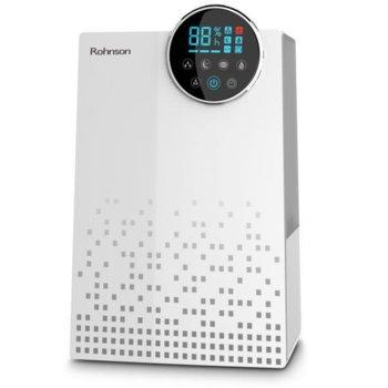 Овлажнител Rohnson R-9507, капацитет до 450 мл./ч., LED дисплей и дистанционно управление, таймер до 10 часа, система за добавяне на аромати, 30 W, бял image