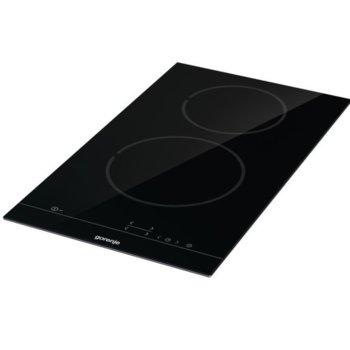 Плот за вграждане Gorenje ECT321BSC, 2 нагревателни зони, StayWarm, сензорно управление, черен image