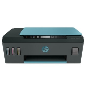 Мултифункционално мастиленоструйно устройство HP Smart Tank 516 AiO, цветен принтер/копир/скенер, 1200 x 1200 dpi, 11 стр./мин, USB, Wi-Fi, Bluetooth, A4 image