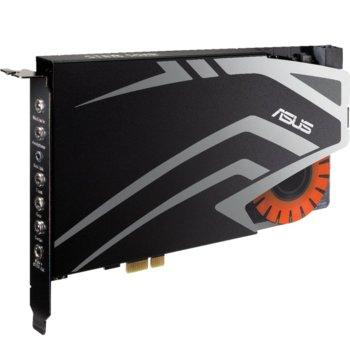 Звукова карта Asus STRIX SOAR, 7.1 канална, PCIe, гейминг, 24-Bit, 116dB, 600ohm image