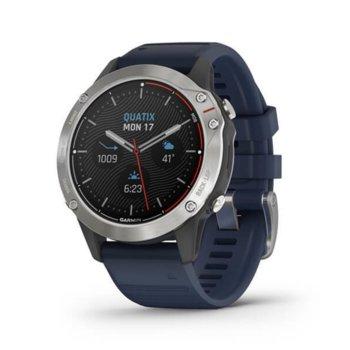Смарт часовник Garmin fēnix 6, 33.2 мм диаметър на дисплея, 32GB памет, водоустойчив(10 ATM), черен image
