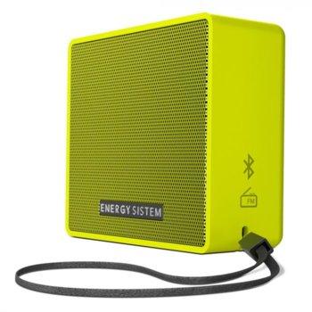 Тонколона Energy Music Box 1+, 1.0, Bluetooth до 6 часа време за работа, жълта image