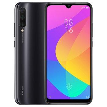 """Смартфон Xiaomi Mi A3 (сив), поддържа 2 sim карти, 6.01"""" (15.26 cm) Super AMOLED дисплей, осемядрен Snapdragon 665 2.0 GHz, 4GB RAM, 64GB Flash памет (+ microSD слот), 48.0 + 8.0 + 2.0 & 32.0 MPix камера, Android, 173.8g image"""
