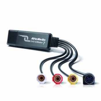 Kепчър, AVerMedia DVD EZMaker 7, външен, USB image