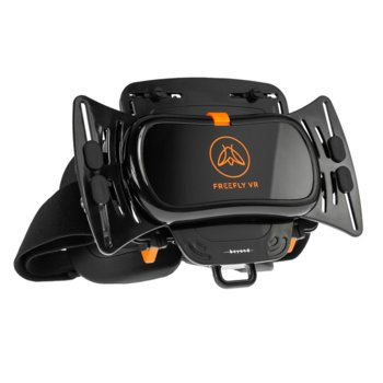 """Очила за виртуална реалност FreeflyVR Beyond, 120° зрителен ъгъл, съвместими със смартфони с диагонал от 4.7"""" до 6.1"""", двойни Crossfire капацитивни тъч-тригери, черни image"""