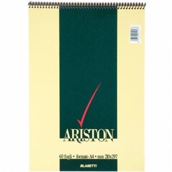 Бележник Blasetti Ariston 10000924, формат A4, oфсетова хартия, 60 листа, спирала image