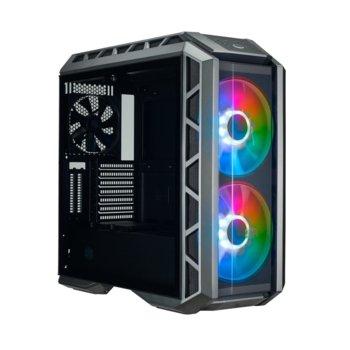 Кутия Cooler Master MasterCase H500P Gunmetal Mesh ARGB, ATX/Micro-ATX/Mini-ITX/E-ATX, 2x USB 3.2 Gen 1, Gun Metal, без захранване image