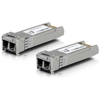 SFP модул Ubiquiti UF-MM-10G, 2x LC интерфейс, до 300m, Multi mode image